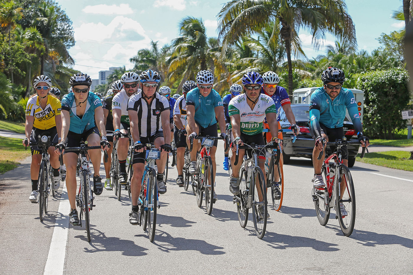 Dolphins Cycling Ride Feb 8-2014
