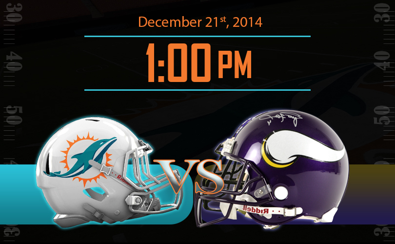 Miami Dolphins vs Minnesota Vikings NFL