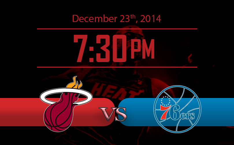 Miami Heat vs Philadelphia 76ers Game NBA