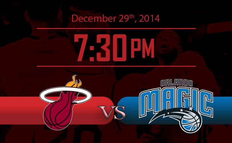 Miami Heat vs Orlando Magic NBA Game