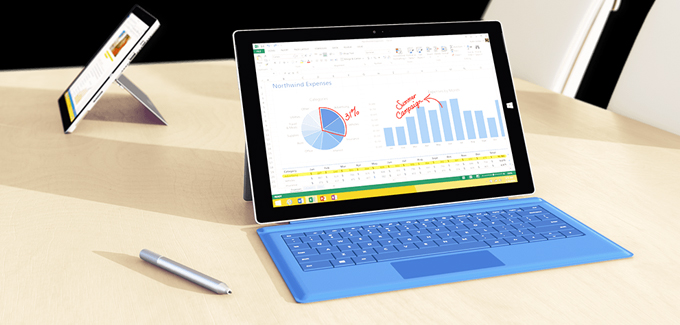 Acordis Authorized Reseller of the Microsoft Surface Pro3