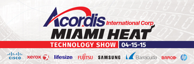 Acordis & Miami Heat Technology Show, April 15 2015