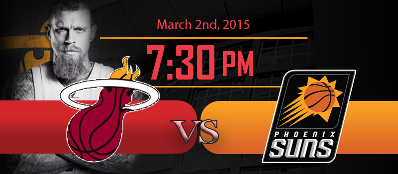 Miami Heat vs Phoenix Suns at American Airlines Arena