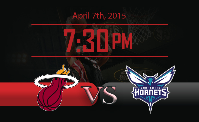 Miami Heat vs Chalotte Hornets