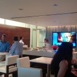 Acordis and Barracuda hosting clients at Marlins Park, Miami