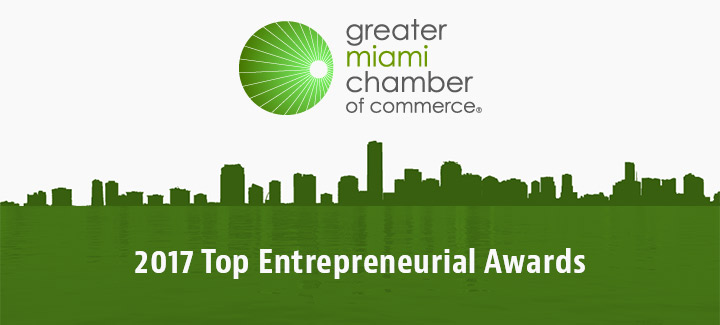 MIami Chamber of Commerce Top Entrepreneurial Awards